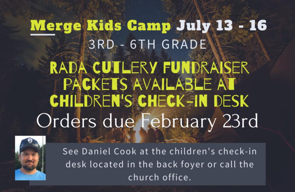 Merge Camp Fundraiser