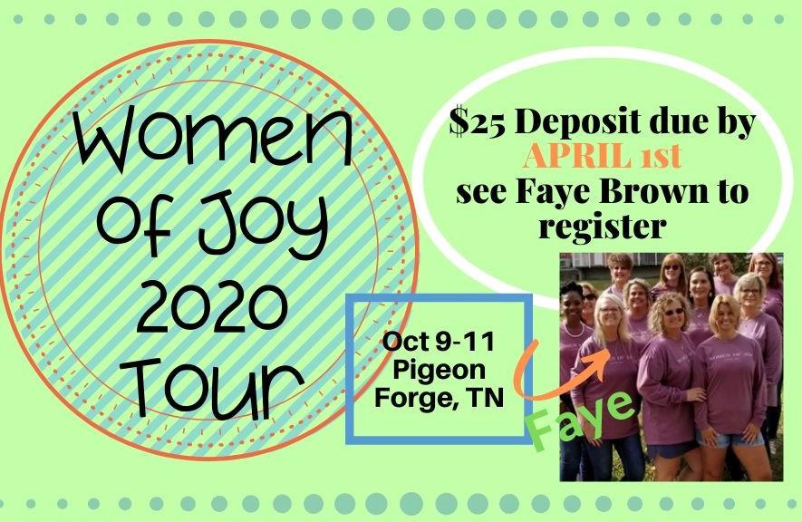 Women of Joy 2020 Tour