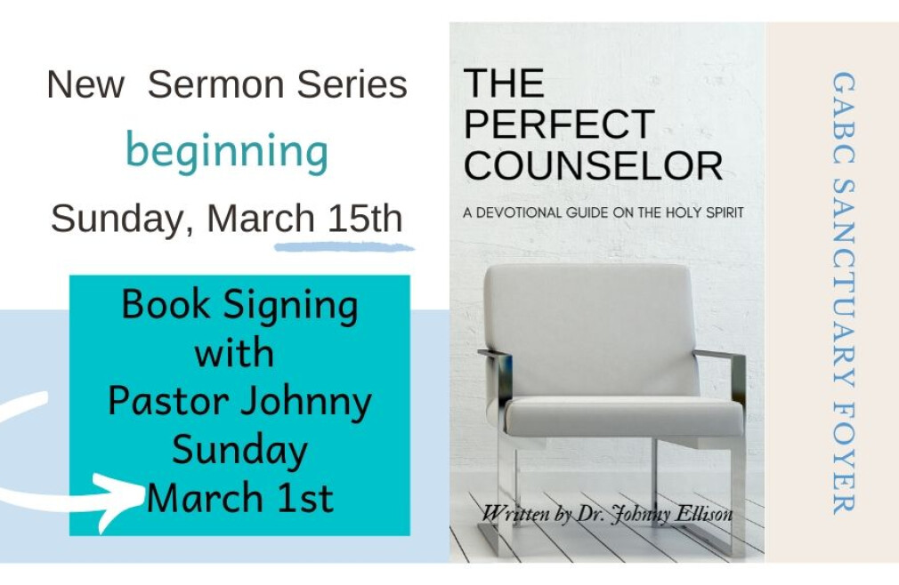Book Signing with Pastor Johnny