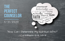 How Can I Determine my Spiritual Gifts?