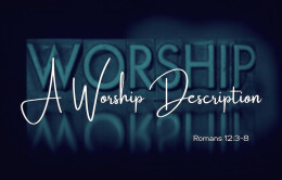 A Worship Description