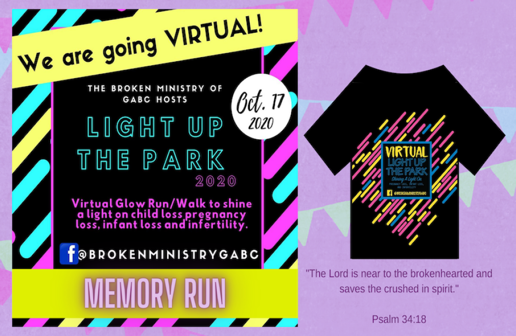 Light Up The Park 2020 Virtual Memory Run