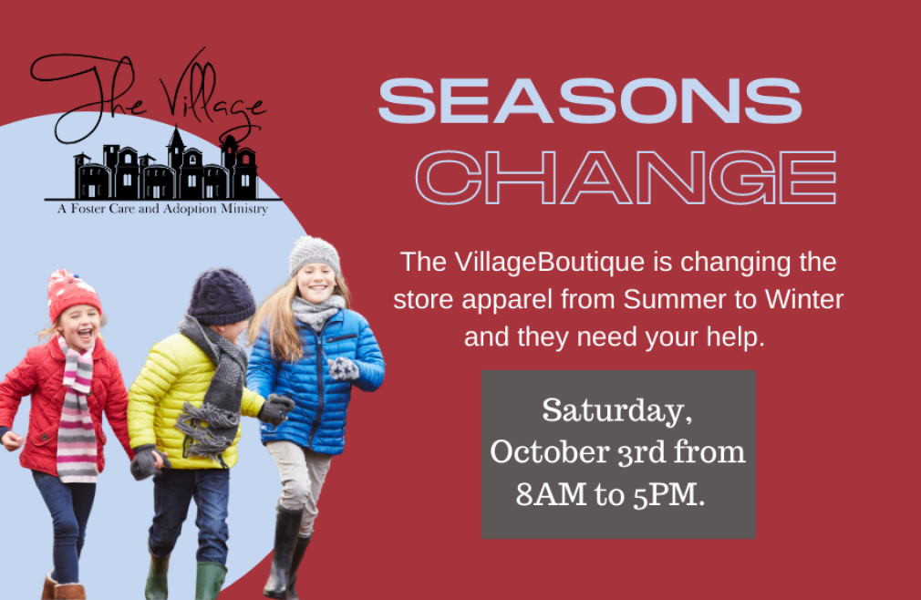 The Village Foster Care Seasons Change event