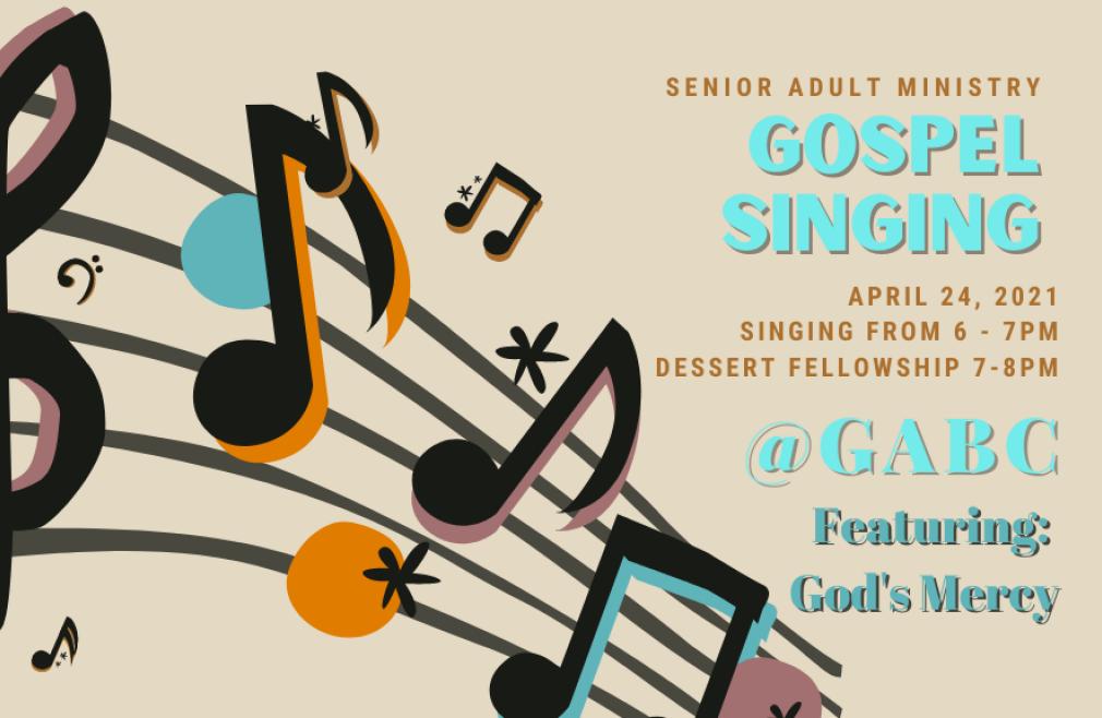 Senior Adult Gospel Singing
