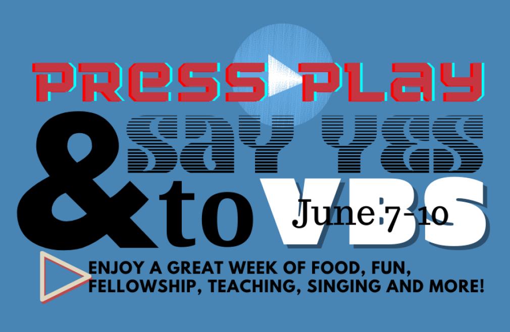 VBS - Press Play